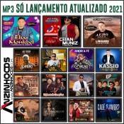 DISCO DE MP3 - LANÇAMENTOS ATUALIZADOS - 2021